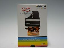 NEW IN BOX - POLAROID PoGo INSTANT PRINTER ZINK ZERO CZU-10011B - DUAL VOLTAGE