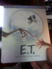 E.T. The Extra-Terrestrial (BLU-RAY/DVD/Digital Steelbook Anniv Limited Ed)New