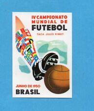 WORLD CUP STORY-PANINI 1990-Figurina n.9- POSTER MONDIALI BRASILE 1950 -NEW