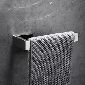 Brushed Nickel Towel Ring Wall Mounted Towel Bar Luxury Bathroom Towel Holder