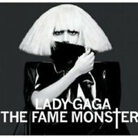 """LADY GAGA """"THE FAME MONSTER"""" 2 CD DELUXE EDITION NEU"""