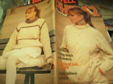 Phildar Knitting Book #85-Autumn Men/Women Designs -All 39 Are Shown