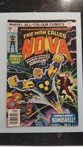 Marvel Comics.The Man Called Nova. Original Comic, No 1 Issue 1976.