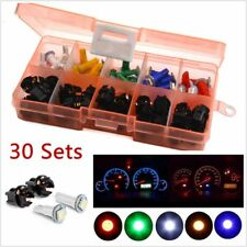 30X 5050 T5 LED Car Motorcycle Instrument Panel Cluster Gauge Dash Light Bulbs