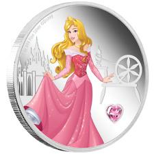 Niue - 2 Dollar 2020 - Disney™ Dornröschen Edelstein Serie (5.) - 1 Oz Silber PP