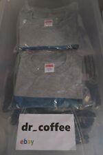 Supreme The Killer L/S Tee Grey Size Small Gray New T-Shirt Box Logo