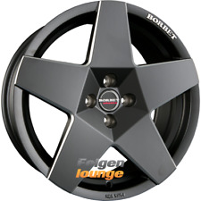 4 Alloy Wheels BORBET a Black Matte 7, 5x17 Et15 4x108 65,1 New
