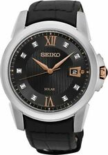 Seiko Genuine Leather Band Casual Wristwatches
