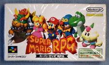 Super Mario RPG (Super FAMICOM Japan Release) Video Game FACTORY SEALED