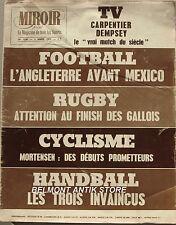 Miroir Sprint n°1236 - 1970 - Rugby des Gallois - Carpentier / Dempsey - Hand