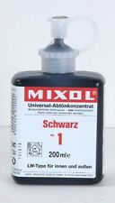 Mixol #1 BLACK Universal Tint 200ml Bottle