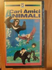 CARI AMICI ANIMALI - VHS EDEN CARTOONS *RARISSIMA* NUOVA SIGILLATA!