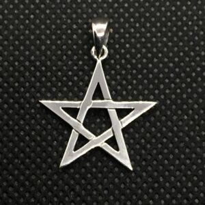 Pentagram Pendant -Peter Stone Jewellery -Sterling Silver Pendant Only