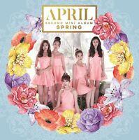 APRIL 2ND MINI ALBUM [ SPRING ] KPOP NEW