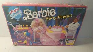 Mattel Happy Birthday Barbie Party Playset No. 7553 NRFB
