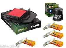 Pack Révision filtre à air huile bougies Honda XL1000 V Varadero  1999-2002