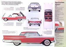 1959 Ford Fairlane Skyliner Retractable Hardtop 352 ci 300 hp Info/Specs/photo