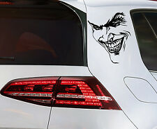 Joker Batman Aufkleber JDM KFZ Sticker Clown Dark Night Gotham Decal  17 cm
