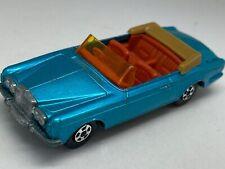 Matchbox Lesney Superfast No 69 Metallic Blue Rolls Royce Silver Shadow - VNM