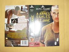 G.I. JANE A ARMES EGALES Jaquette VHS Demi Moore Ridley Scott Viggo Mortensen