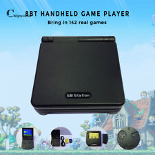 2pc Portable GB Station 8 bit Handheld Game player Built in 200  Video games