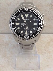 SEIKO PROSPEX KINETIC GMT AIR DIVER > SUN019P1 > CLASSIC ANALOGUE DISPLAY WATCH