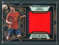 2019-20 MARCO ASENSIO 10/20 JERSEY PANINI OBSIDIAN VOLCANIC MATERIAL