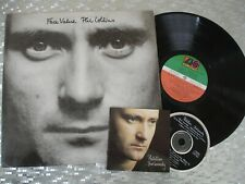 "Phil Collins ‎ ""Face Value"" Vintage LP Atlantic ‎SD-16029 + ""..But Seriously"" CD"