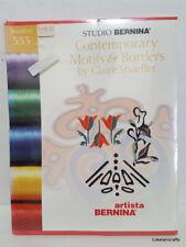 Studio Bernina Embroidery Design Card #533 Contemporary Motifs & Borders - New