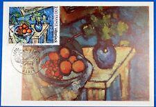 OEUVRE DE VLAMINCK  FRANCE CPA Carte Postale Maximum Yt 1900GF