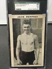 1920 Underwood & Underwood Jack Dempsey SGC 3.5 VG+ Pop 2 None Higher