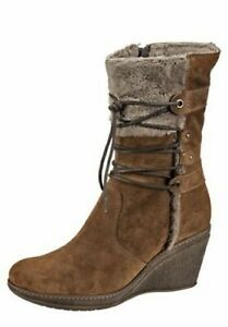 Khrio Ankle Boots Warm Padding Size 42 New (136)