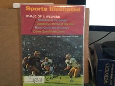MIKE PHIPPS SIGNED 1967 SPORTS ILLUSTRATED/PURDE BOILERMAKERS QUARTER BACK