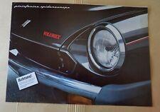 Prospekt brochure Pininfarina Spidereuropa Volumex (Fiat 124 Spider) 1983