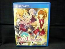 Used PS Vita Omega Labyrinth Japan Import Game Play Station VITA