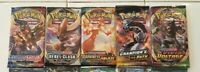 Pokemon TCG Booster Pack Lot - 5 packs - Sword Shield Darkness Champion Vivid