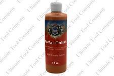 16 Oz Brown Tripoli Metal Polishing Compound Aluminum Buffing Stainless Steel