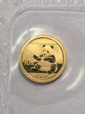 China 2017 1g Gold Panda Coin