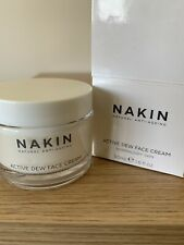 Nakin Natural Anti-Ageing Active Dew Face Cream - 50ml USED