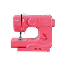 Janome Lightning Pink Mini Electric Portable Sewing Machine Travel and Home New