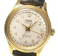 ORIS Pointer date 7285B Silver Dial Automatic Boy's Watch_557618