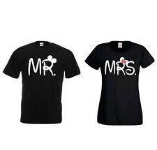T-Shirt Set Mr. & Mrs. Mickey Minnie couple