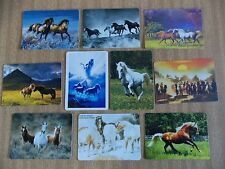 Swap playing cards    10  Modern Wides   Horses  #H3