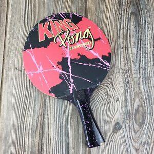 Harvard Ping Pong Table Tennis Paddle King Pong 80's Vibes