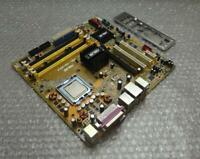 Asus P5L-VM1394 LGA 775/Socket T DDR2 Motherboard and Backplate