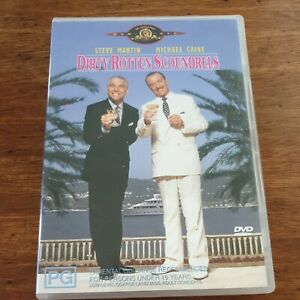 Dirty Rotten Scoundrels DVD R4 VERY GOOD FREE POST