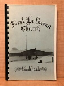 1982 FIRST LUTHERAN CHURCH COOKBOOK Strongsville Ohio Ethnic & American Recipes