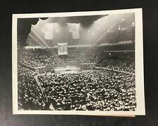 Original 1946 Photo Communist Rally Madison Square Garden NY William Foster MSG