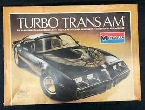 Monogram Turbo Trans AM 1/8 scale Plastic Model Kit