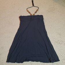 Xhilaration Women's Dress Solid Blue Medium